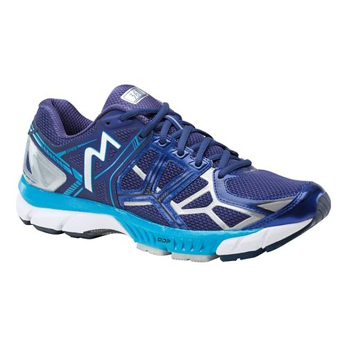 Mens 361 Degrees Spire Running Shoe - Blue/Atomic Blue 9