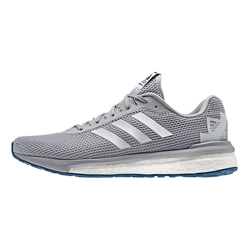 Mens adidas Vengeful Running Shoe - Grey/Silver 9.5