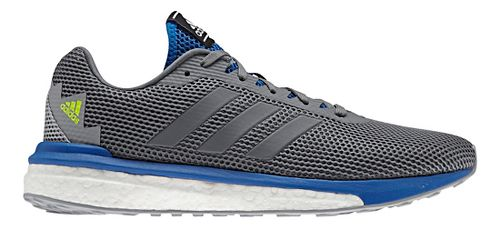 Mens adidas Vengeful Running Shoe - Grey/Blue 8