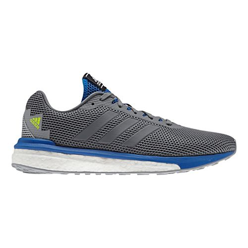 Mens adidas Vengeful Running Shoe - Grey/Blue 8.5