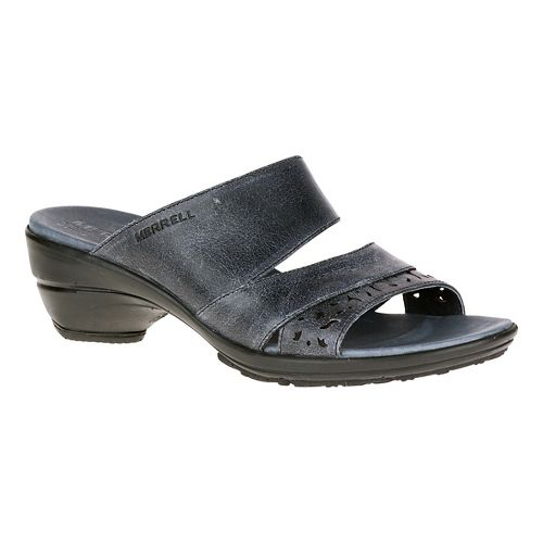 Womens Merrell Veranda Eve Slide Sandals Shoe - Black 9
