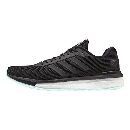 Womens adidas Vengeful Running Shoe - Black/Black 7.5