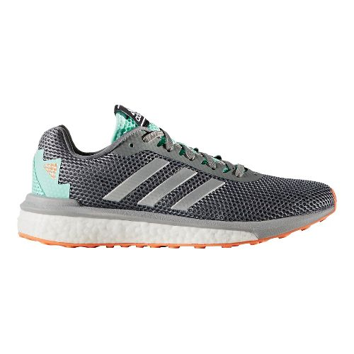 Womens adidas Vengeful Running Shoe - Grey/Green 11