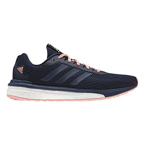 Womens adidas Vengeful Running Shoe - Navy/Pink 6.5