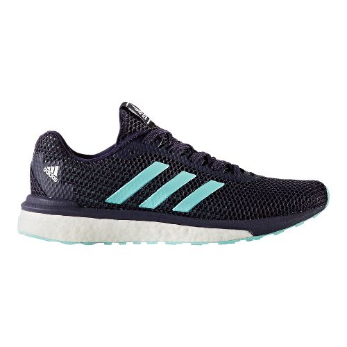 Womens adidas Vengeful Running Shoe - Navy/Aqua 9