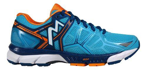 Womens 361 Degrees Spire Running Shoe - Aqua Blue/Marigold 8.5