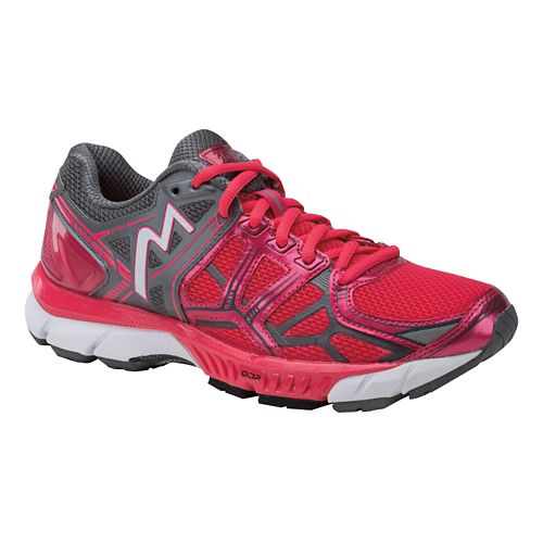 Womens 361 Degrees Spire Running Shoe - Rouge Red/Castlerock 9