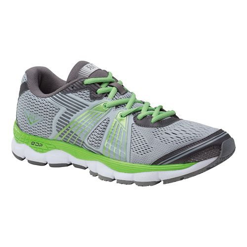 Mens 361 Degrees Shield Running Shoe - High-Rise/Green 10