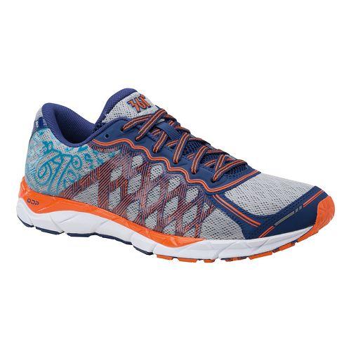 Mens 361 Degrees KgM2 Running Shoe - Silver/Orange 8