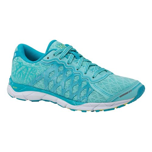 Womens 361 Degrees KgM2 Running Shoe - Aruba/Blue 9.5