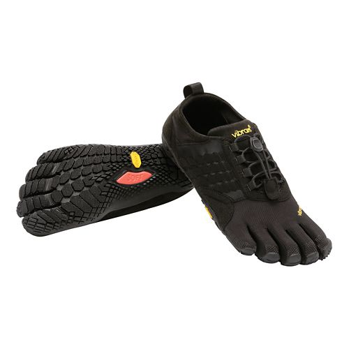 Mens Vibram FiveFingers  Trek Ascent Trail Running Shoe - Black 42
