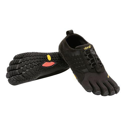 Mens Vibram FiveFingers  Trek Ascent Trail Running Shoe - Black 45