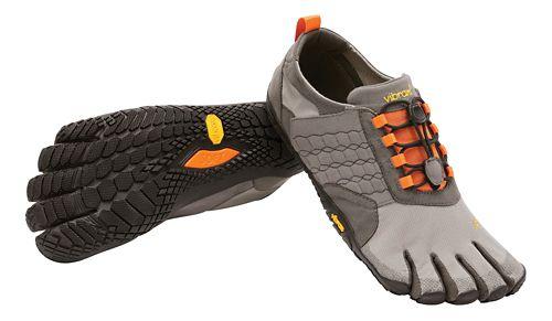 Mens Vibram FiveFingers Trek Ascent Trail Running Shoe - Grey/Black 45