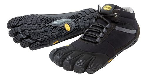 Mens Vibram FiveFingers Trek Ascent Insulated Trail Running Shoe - Black 44