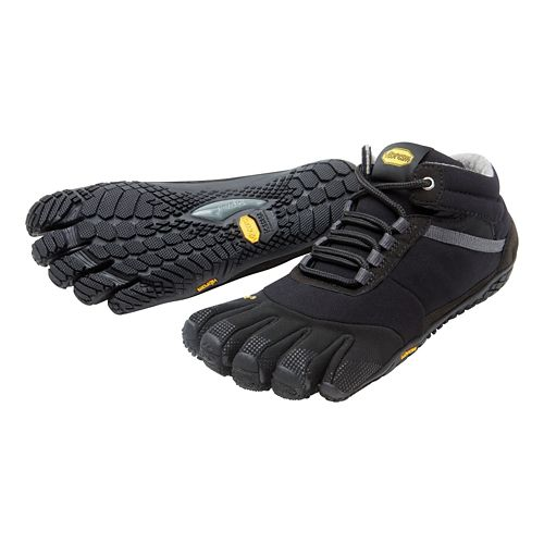 Mens Vibram FiveFingers Trek Ascent Insulated Trail Running Shoe - Black 42