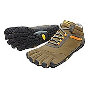Mens Vibram FiveFingers Trek Ascent Insulated Trail Running Shoe - Khaki/Orange 42