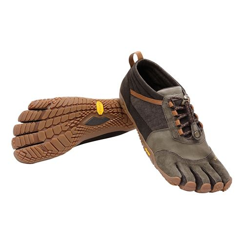 Mens Vibram FiveFingers Trek Ascent LR Trail Running Shoe - Brown 42