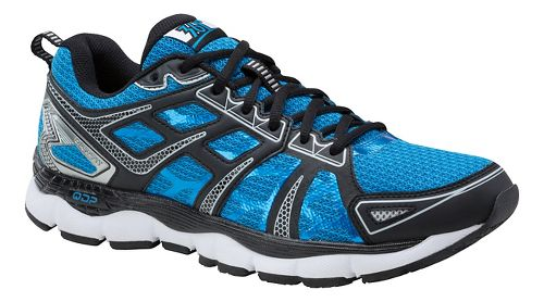 Mens 361 Degrees Omni-Fit Running Shoe - Blue/Silver 11