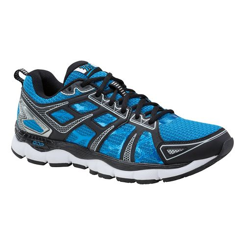 Mens 361 Degrees Omni-Fit Running Shoe - Blue/Silver 9