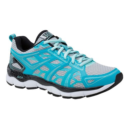 Womens 361 Degrees Omni-Fit Running Shoe - Peacock Blue/Grey 9