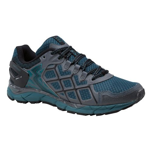 Mens 361 Degrees Ortega Trail Running Shoe - Castlerock/Balsam 9