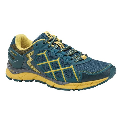 Womens 361 Degrees Ortega Trail Running Shoe - Balsam/Bamboo 7