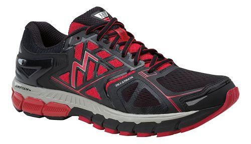 Mens 361 Degrees Strata Running Shoe - Black/Chi 8.5