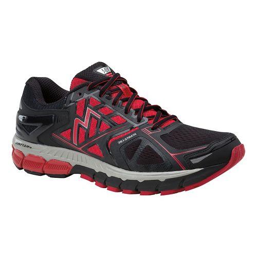 Mens 361 Degrees Strata Running Shoe - Black/Chi 11