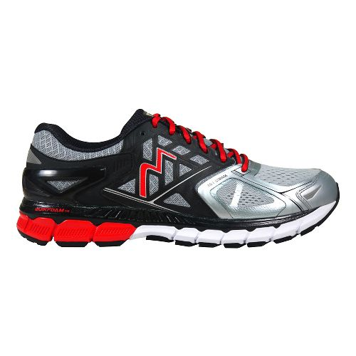 Mens 361 Degrees Strata Running Shoe - Industrial/Spark 9.5