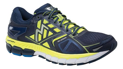 Mens 361 Degrees Strata Running Shoe - Midnight/Spark 12