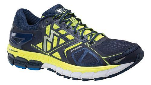 Mens 361 Degrees Strata Running Shoe - Midnight/Spark 9.5