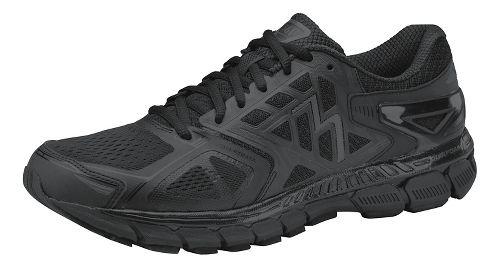 Womens 361 Degrees Strata Running Shoe - Black/Castlerock 10.5