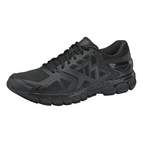 Womens 361 Degrees Strata Running Shoe - Black/Castlerock 8