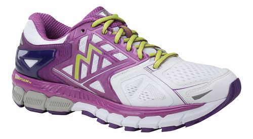 Womens 361 Degrees Strata Running Shoe - White/Violet 7.5