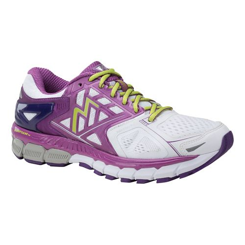 Womens 361 Degrees Strata Running Shoe - White/Violet 10.5