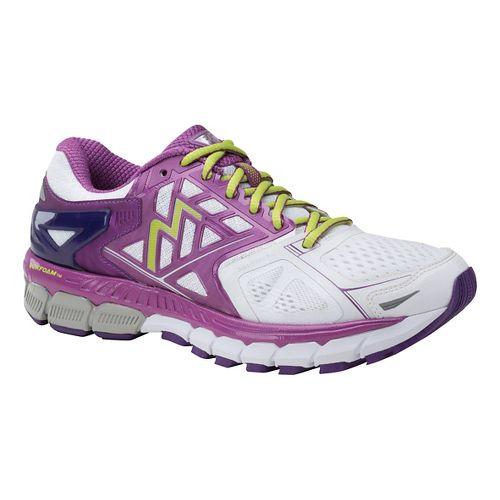 Womens 361 Degrees Strata Running Shoe - White/Violet 7