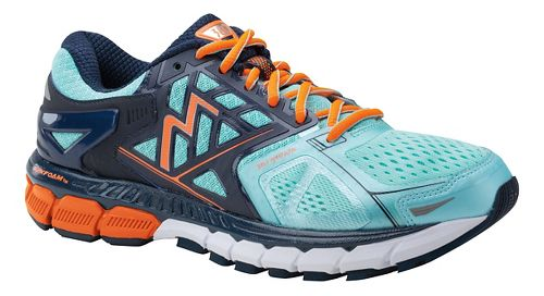 Womens 361 Degrees Strata Running Shoe - Aruba/Midnight 6