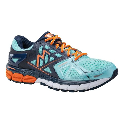 Womens 361 Degrees Strata Running Shoe - Aruba/Midnight 10.5