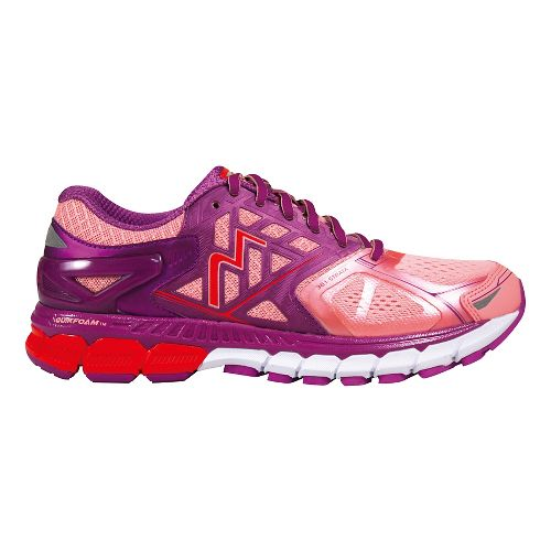 Womens 361 Degrees Strata Running Shoe - Blush/Violet 10.5