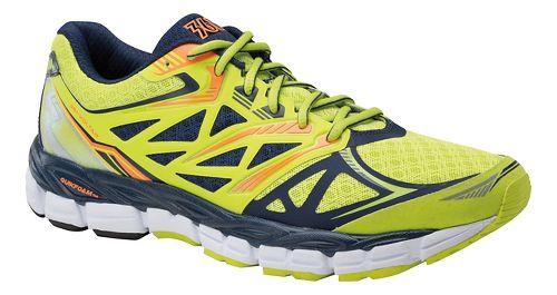 Mens 361 Degrees Voltar Running Shoe - Limeade/Midnight 10.5