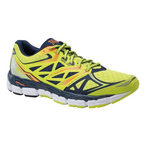 Mens 361 Degrees Voltar Running Shoe - Limeade/Midnight 10