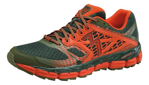 Mens 361 Degrees Santiago Trail Running Shoe - Cyprus/Poppy 10.5