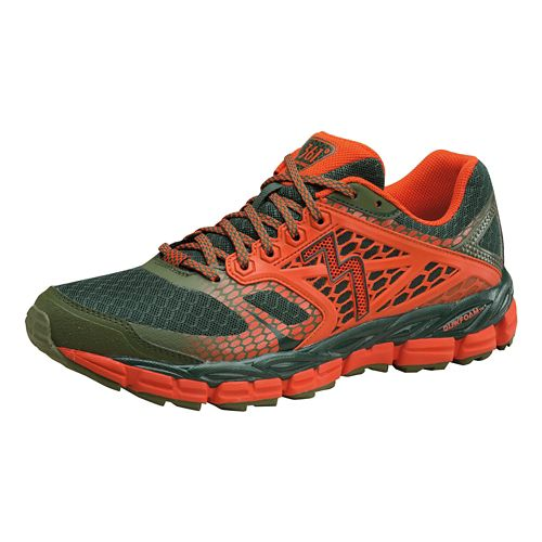 Mens 361 Degrees Santiago Trail Running Shoe - Cyprus/Poppy 10