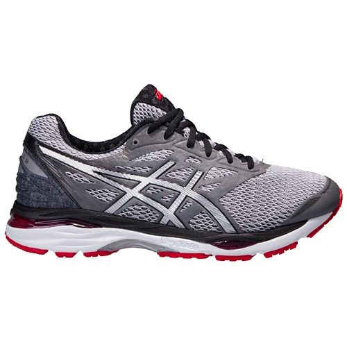 Mens ASICS GEL-Cumulus 18 Running Shoe - Grey/Silver 8.5