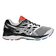 Mens ASICS GEL-Cumulus 18 Running Shoe - White/Black 8.5