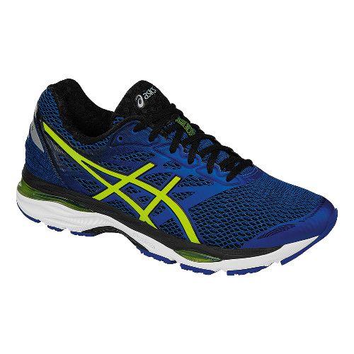 Mens ASICS GEL-Cumulus 18 Running Shoe - Blue/Safety Yellow 12