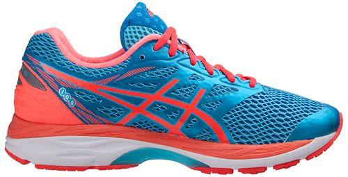 Womens ASICS GEL-Cumulus 18 Running Shoe - Aqua/Coral 6.5