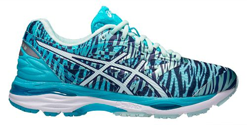 Womens ASICS GEL-Cumulus 18 Running Shoe - Blue/Sea 11
