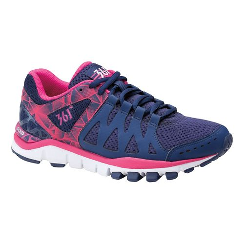 Womens 361 Degrees Soul Mate Cross Training Shoe - Blueprint/Purple 8.5