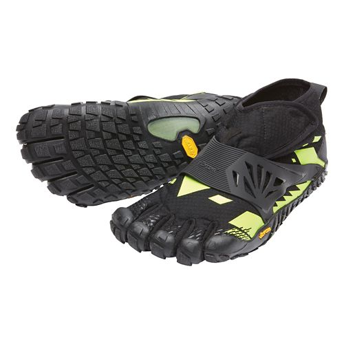 Mens Vibram FiveFingers Spyridon MR Elite Trail Running Shoe - Black/Yellow 42